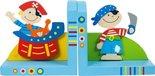 Speelgoedbox-Houten-Boekensteunen-Piraat-BJ852-Bigjigs