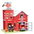 Houten Brandweer Garage New Classic Toys