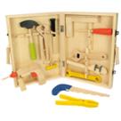 Houten gereedschapbox