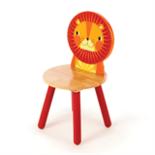 Houten Leeuw stoel