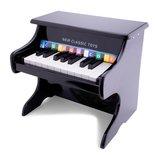 Houten piano zwart 18 toetsen