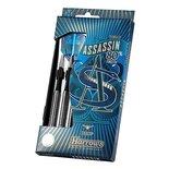 Dartpijlen ASSASSIN 80% tungsten steeltip 25 gram 3 stuks