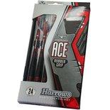 Dartpijlen Ace 100% rubbergrip 22 gram 3 stuks