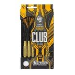 Dartpijlen Club brass 26 gram 3 stuks