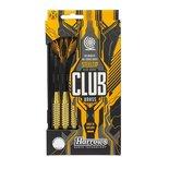 Dartpijlen Club brass 22 gram 3 stuks