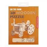 Tractor - Houten 3D Puzzel