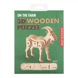 Geit - Houten 3D Puzzel