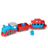 Green Toys trein blauw-rood