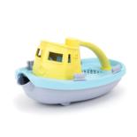Green Toys sleepboot paars geel