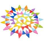 Houten octagon puzzel 72-delig
