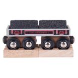 Houten kolen wagon