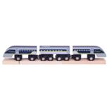 Houten sneltrein Eurostar