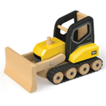 Houten bulldozer