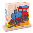 Blokken Puzzel transport