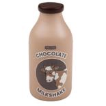 Houten chocolade milkshake
