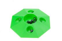 Knikkerpot groen met knikkers diameter 22 cm