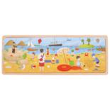 Houten puzzel aan het strand 24-delig