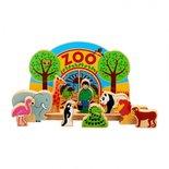 Houten junior dierentuin speelset