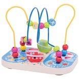 Houten Kralenframe Marine Bigjigs Toys