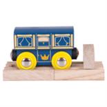 Houten Koninklijke wagon