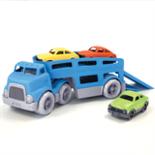 Green Toys vrachtwagen met 3 auto's