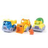 Green Toys bouw voertuigen set a 3 stuks