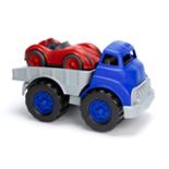 Green Toys vrachtwagen met race auto