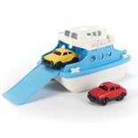 Green Toys Veerboot blauw met 2 auto's