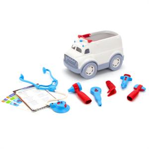 Green-toys-ambulance-Speelgoedbox