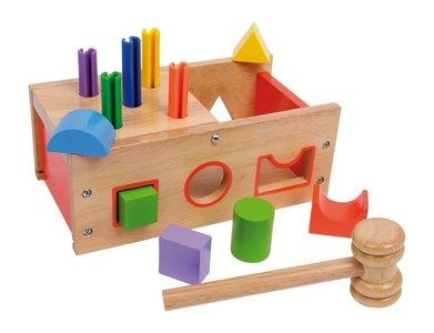 Houten Hamer en Activiteiten Speelbak