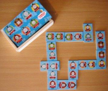 Houten Thomas & Friends Domino 28 delig