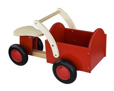 Houten Bakfiets Rood New Classic Toys