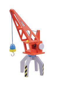 Houten Container Kraan New Classic Toys