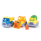 set 3 bouw trucks