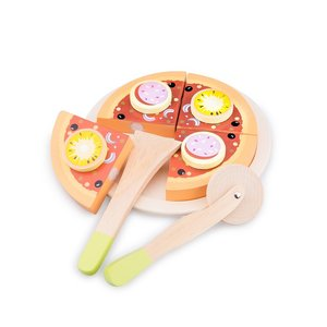 houten pizza 10586 new classic toys