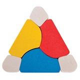 Houte driehoek BB123