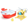 Green-toys-boot-helicopter-speelgoedbox